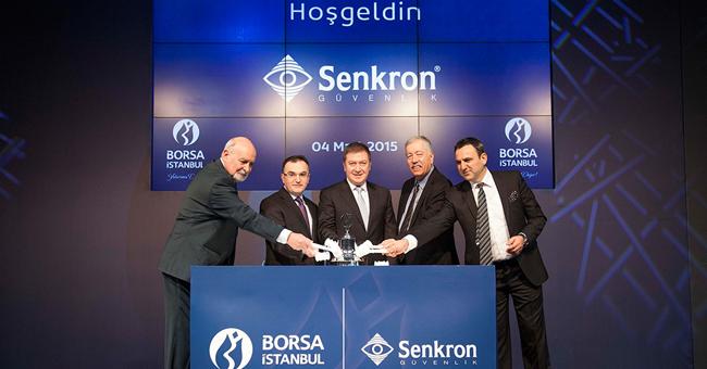 Borsa İstanbul'da Gong, Senkron Güvenlik ve İletişim Sistemleri İçin Çaldı