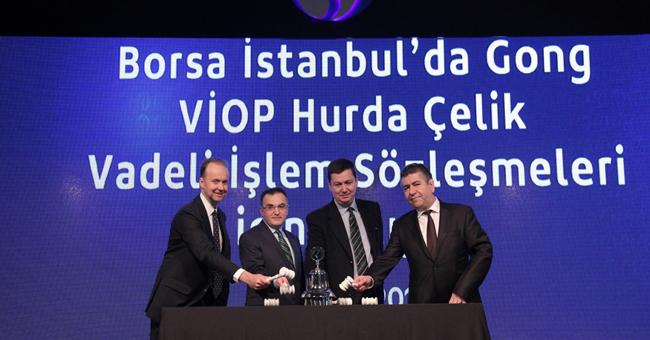 Çelik Hurdasına Dayalı Vadeli İşlem Sözleşmeleri, VİOP'ta İşleme Açıldı