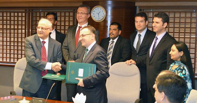Karaçi Borsası ile veri dağıtım sözleşmesi imzalandı
