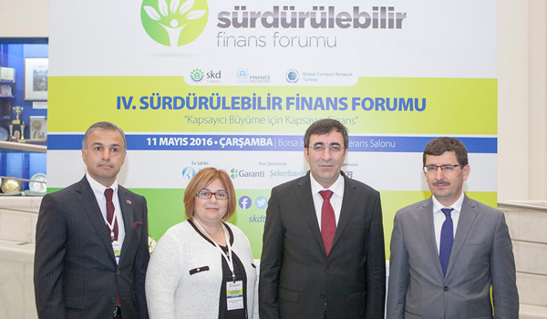 IV. Sürdürülebilir Finans Forumu gerçekleştirildi