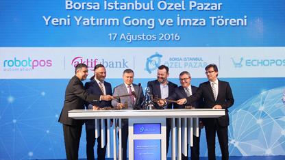 Borsa İstanbul Özel Pazar'da yeni bir yatırım