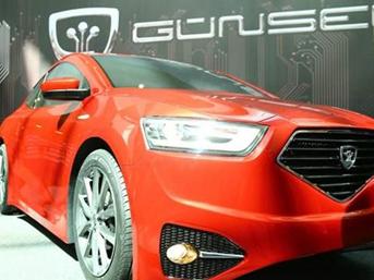 KKTC'nin ilk yerli arabası 'GÜNSEL' görücüye çıktı