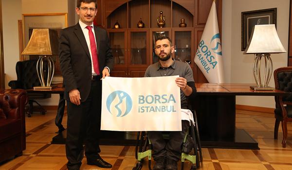Borsa İstanbul'dan, bedensel engelli milli okçuya destek