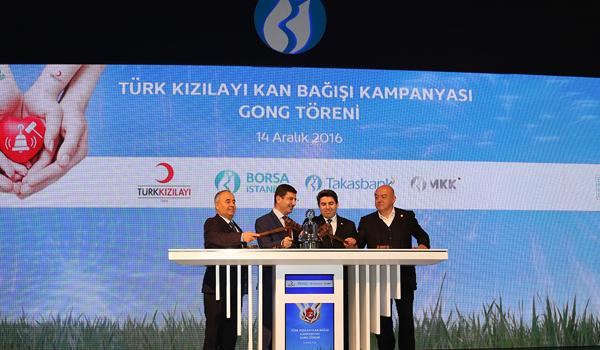 Borsa İstanbul'da Gong 'Hayat' için çaldı