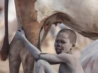 Güney Sudan'daki Mundari Kabilesi