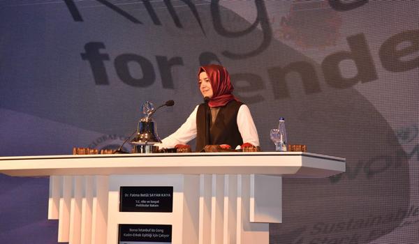 Borsa İstanbul'da Gong, Kadın-Erkek Eşitliği için çaldı