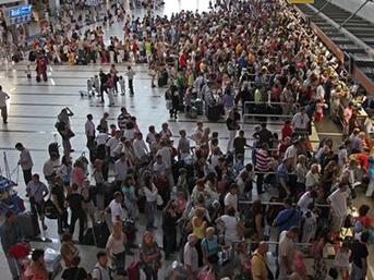 Rusya'dan Türkiye'ye gelen turist sayısı geçen yıla göre arttı