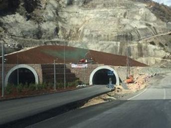 Doğu ile Akdeniz'i birbirine bağlayan tünel tamamlandı