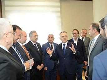 Maliye Bakanı Ağbal: 'Herkes vergisini ödeyecek'