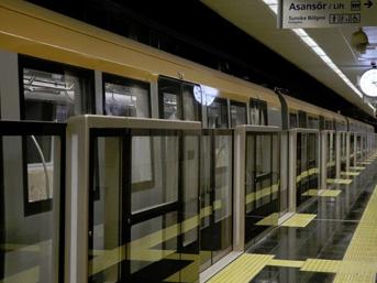 Türkiye'nin ilk sürücüsüz metrosu
