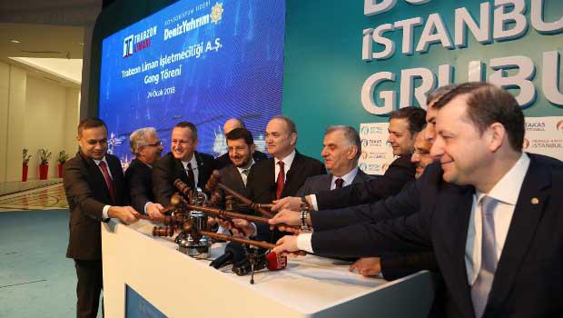 Borsa İstanbul'da Gong, Trabzon Limanı için çaldı