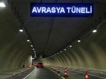 Avrasya Tüneli zammına düzenleme