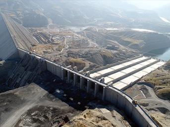 Ilısu Barajı'nda haziranda su tutulmaya başlanacak