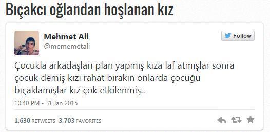 Twitter'in Yeni Fenomeni Mehmet Ali