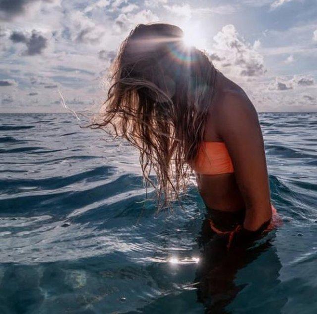Bahamalar kızı Sacha