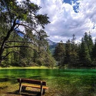 Yazın göle dönüşen park