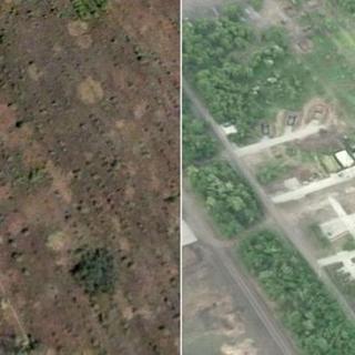 Putin'in gizli planı uydu fotoğraflarında