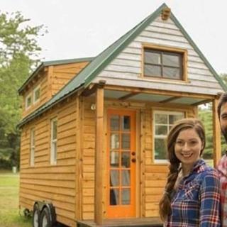Taşınabilir evle Amerika'yı gezdiler