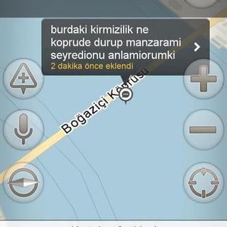 Yandex Navigasyon'a bırakılmış en komik trafik yorumları
