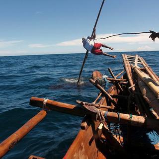 Böyle balina avı gördünüz mü?