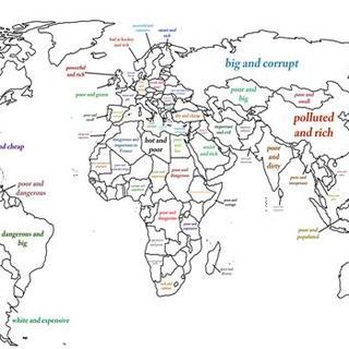 Google aramalarına göre ülkelerin iki kelimelik tanımı