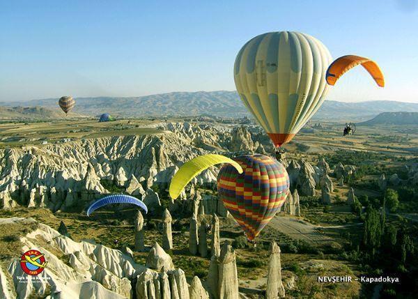 Gökyüzünden Türkiye fotoğrafları