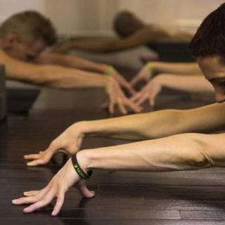 Bu yoga sınıfı olay oldu