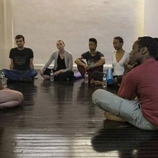 Bu yoga sınıfı olay oldu!