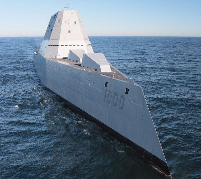 Geleceğin savaş gemisi