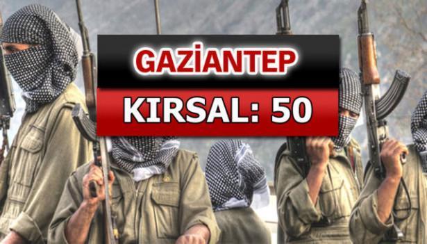İşte PKK'lı hainlerin il il dağılımı