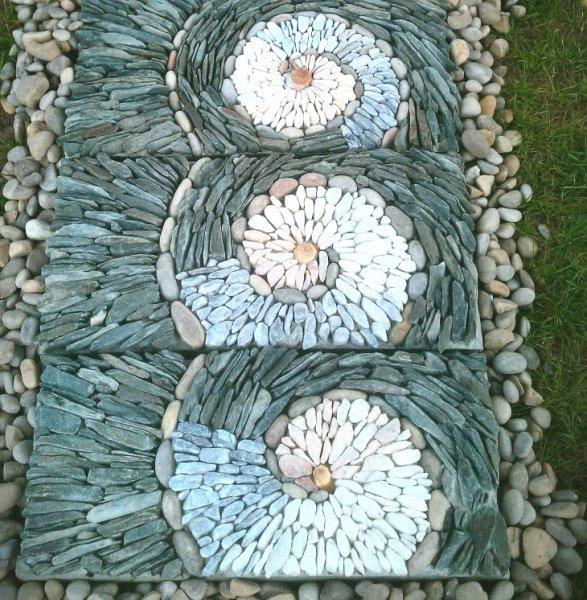 Taşlarla yapılmış inanılmaz şekiller