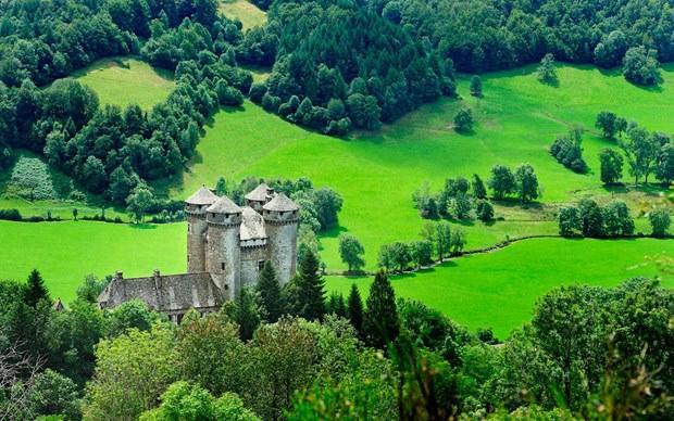 Fransa'daki Auvergne bölgesi