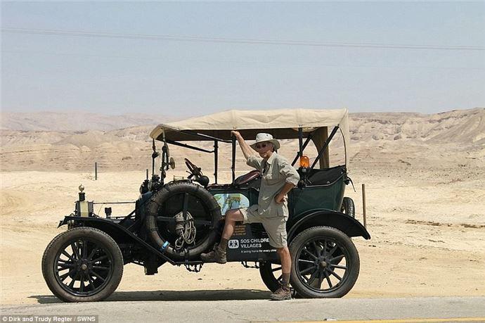 100 yıllık arabayla dünya turu