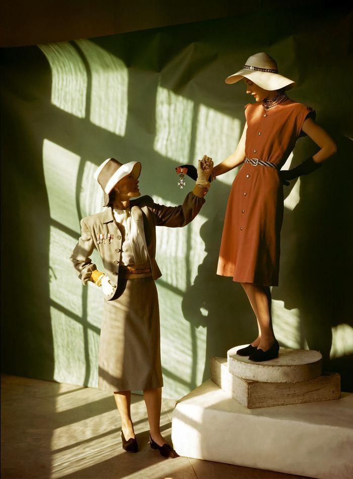 Yıl 1940 : Mankenler