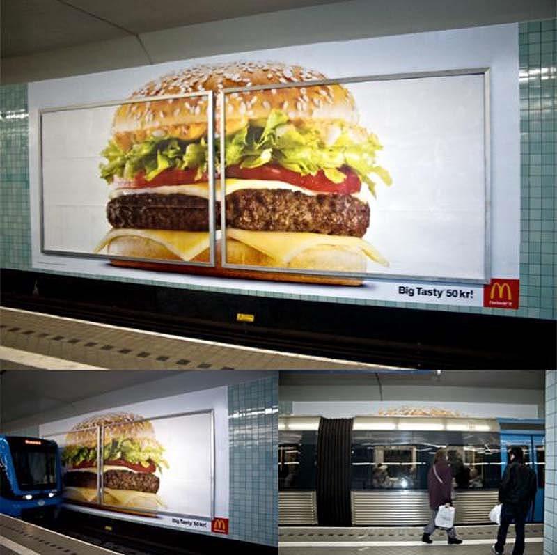 En etkileyici pano reklamları