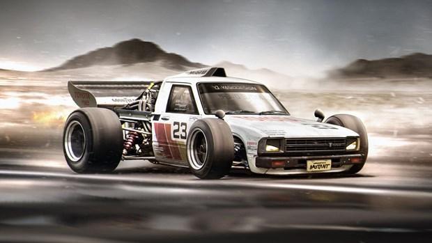 Hayalindeki otomobilleri photoshopla yarattı