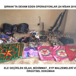 Şırnak'taki operasyonlar
