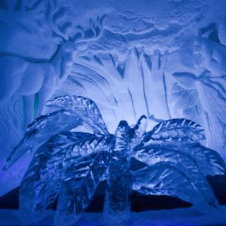 Tamamı buzdan yapılan otel