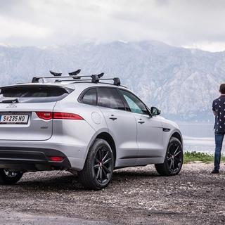 Jaguar'ın ilk SUV modeli FPace Türkiye'de