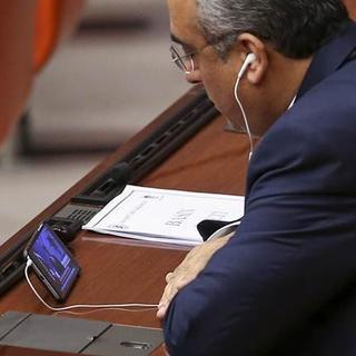 Meclis'te vekiller böyle izledi