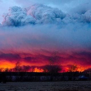 Kanada'da yangın kontrol altına alınamıyor!