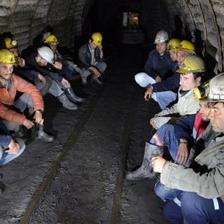 Madenciler açlık grevinde