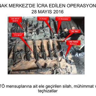 Şırnak'ta metrelerce uzunlukta tünel bulundu