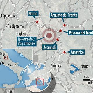 İtalya'da deprem: 37 ölü