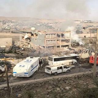 Cizre'deki bombalı saldırıdan ilk kareler