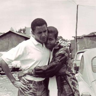Obama'nın hayatından kareler
