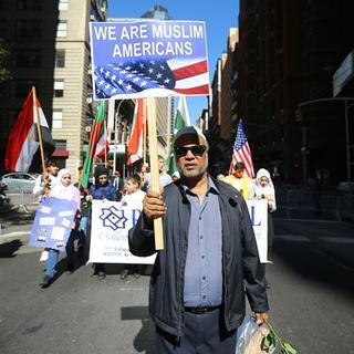 New York'ta Müslüman Günü Yürüyüşü düzenlendi