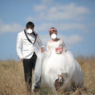 Bu düğün fotoğrafları sosyal medyayı salladı