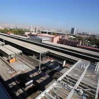 İşte Ankara yüksek hızlı tren garı