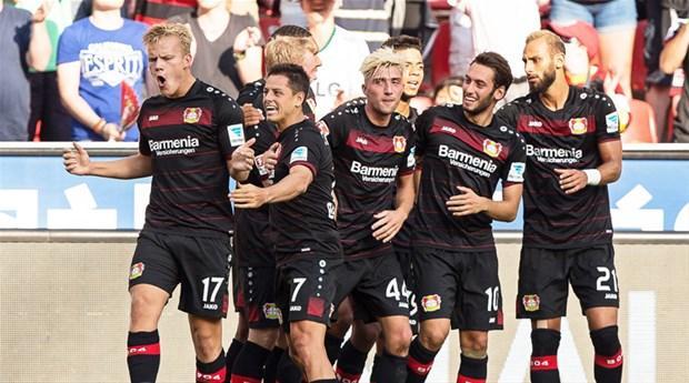 17) Bayer Leverkusen